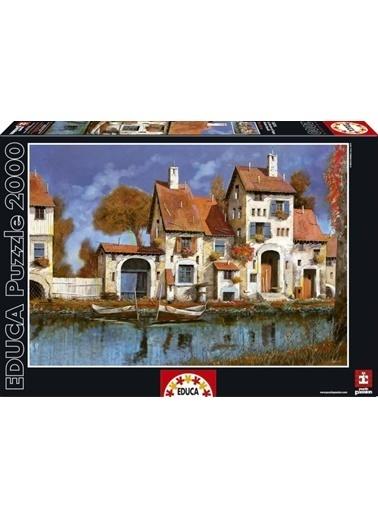 Educa Educa 2000 Parça Puzzle La Cascina Sul Lago Renkli
